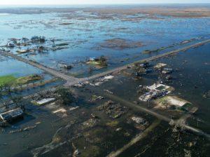 Flooded delta